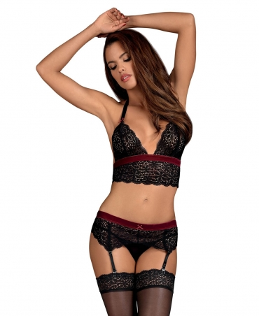Obsessive Rossita set color: black