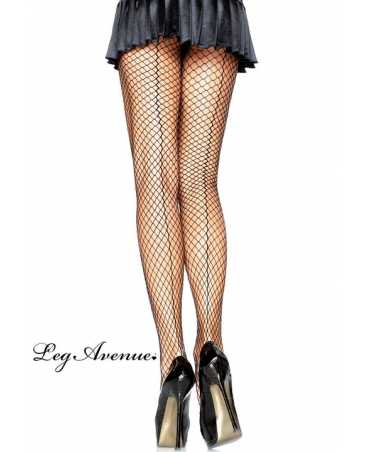 Spandex Industrial Net backseam pantyhose