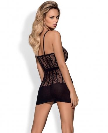 Obsessive D605 dress color: black