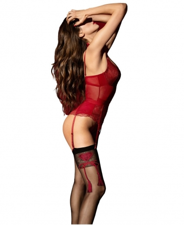 <p>Stockings to the waist with a smooth welt. </p>