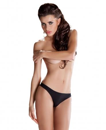 Passion mini Brazilian panty, Black
