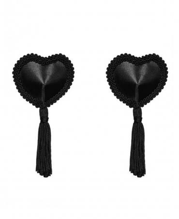 Tassel nipple covers color: black