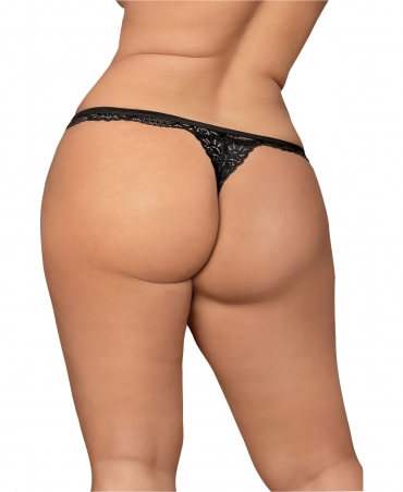 Obsessive 810-THO-1 thong color: black