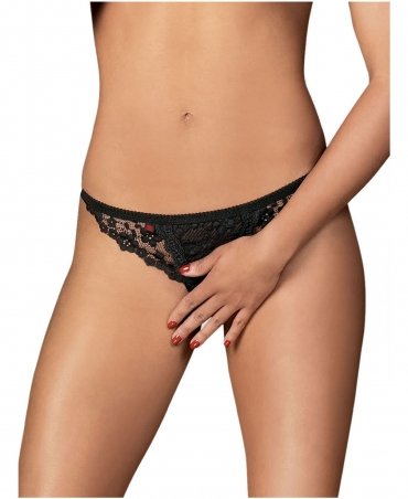 Obsessive Letica crotchless thong