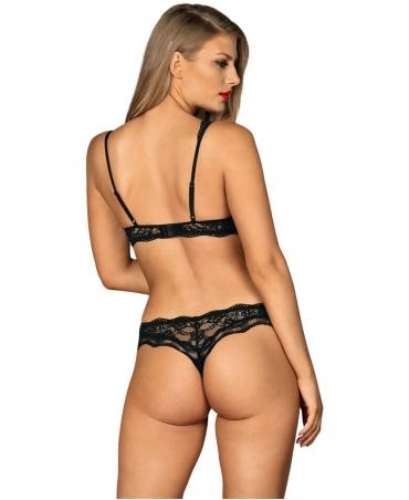 Obsessive Luvae set color: black