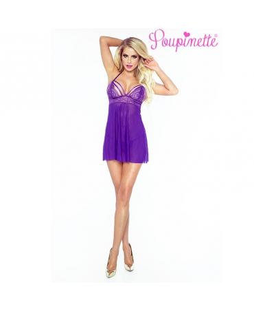 Purple Séduction Babydoll