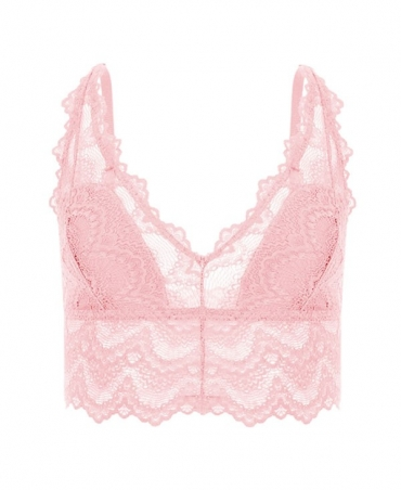 copy of Lace bra pink