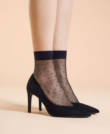 <p>Top-quality, elegant patterned socks. Soft and comfortable.</p> <p>The perfect enlivenment for any outfit.</p>