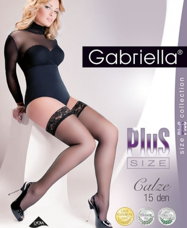 Gabriella  κάλτσες plus size 15 Den XL-XXL
