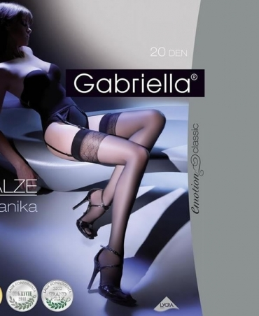 Κάλτσες για ζαρτιέρες Gabriella Anika 20Den
